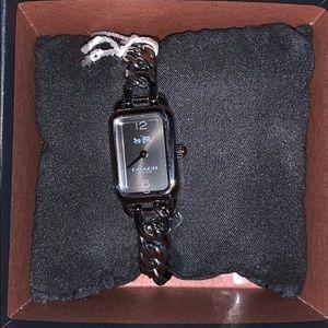 Beautiful chain link COACH watch